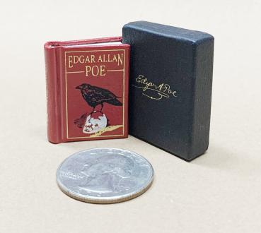 Edgar Allan Poe, The Raven  micro-miniature