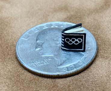 """The Smallest Book - The Olympic Oath"" (1950 edition)"
